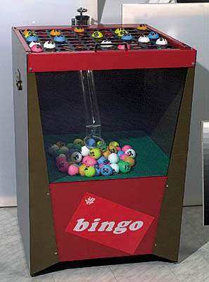 bingo machine huren